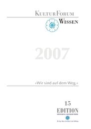 Kultur-Forum Wissen 2007