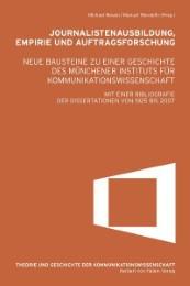 Journalistenausbildung, Empirie und Auftragsforschung