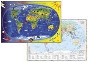 Kinderweltkarte/Staaten der Erde