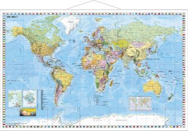 Weltkarte Großformat