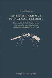 Antimilitarismus und Gewaltfreiheit