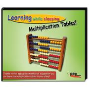 Learning while sleeping . Multiplication Tables