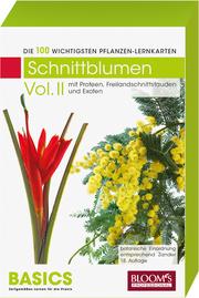 Pflanzen-Lernkarten: Die 100 wichtigsten Schnittblumen 2