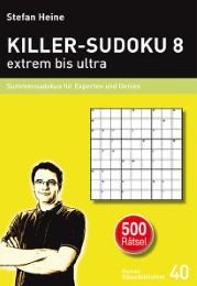 Killer-Sudoku 8 - extrem bis ultra