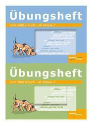 Wörterbuchübungshefte 1 und 2