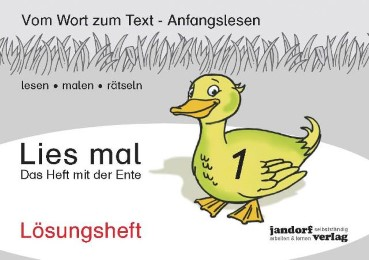Lies mal!, Vom Wort zum Text - Anfangslesen