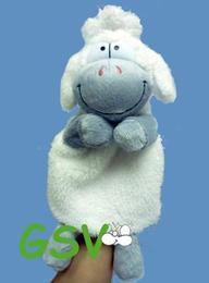 Handpuppe 'Edgar, das Schaf'