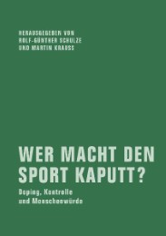 Wer macht den Sport kaputt?