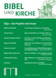 Bibel und Kirche / Elija - ein Prophet wie Feuer