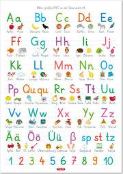 Fragenbär-Lernposter: Mein großes ABC in der Grundschrift (GS)