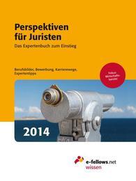 Perspektiven für Juristen 2014