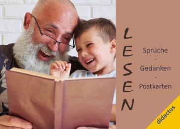 Lesen: Sprüche, Gedanken, Postkarten