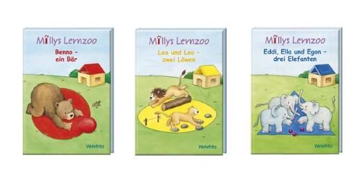 Millys Lernzoo Bücher, 3 Stück