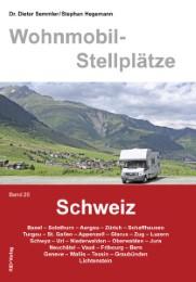 Wohnmobil-Stellplatzführer Schweiz