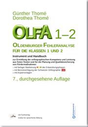 OLFA 1-2: Oldenburger Fehleranalyse für die Klassen 1-2.