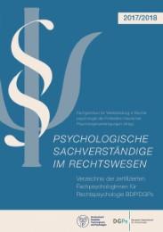 Psychologische Sachverständige im Rechtswesen 2017/2018
