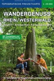 Wandergenuss Rhein-Westerwald Topographische Wander-und Freizeitkarte 1:25 000
