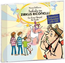 Aufruhr im Zirkus Riconelli - Cover