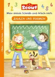 Scout - Mein erstes Schreib-und-Wisch-Heft: Zahlen und Formen