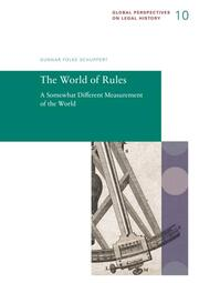 The World of Rules. A Somewhat Different Measurement of the World