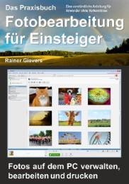 Das Praxisbuch Fotobearbeitung für Einsteiger - Cover