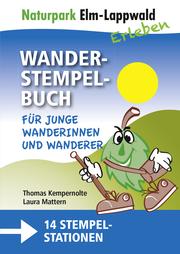 Naturpark Elm-Lappwald - Wanderstempelbuch-Familienpaket - Cover