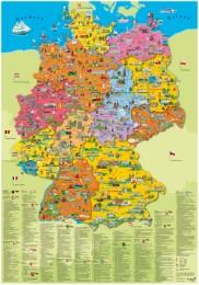 Poster 'Deutschland Politisch'