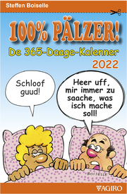100% PÄLZER!- De 365-Daage-Kalenner 2022 - Cover
