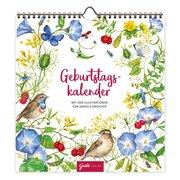 Geburtstagskalender 'Blumenwiese'