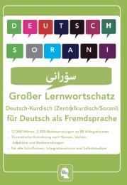 Interkultura Großer Lernwortschatz Deutsch - Kurdisch ( Zentralkurdisch / Soranî ) für Deutsch als Fremdsprache