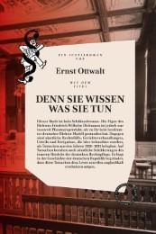Denn sie wissen was sie tun: Ein deutscher Justizroman