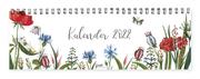 Tischkalender - Motiv 'Blumen' 2022