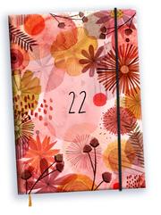 Taschenkalender Blumen 2022
