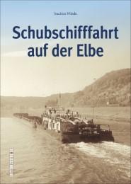 Schubschifffahrt auf der Elbe - Cover
