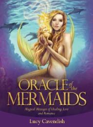 Orakel der Meerjungfrauen. 45 Karten der Heilung & Liebe mit Botschaften im Begleitbuch