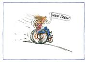 AnyBody Postkartenset 'Bahn frei!'