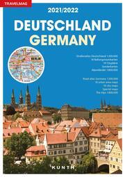 Reiseatlas Deutschland/Germany 2021/2022