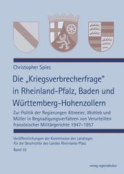 Die 'Kriegsverbrecherfrage' in Rheinland-Pfalz, Baden und Württemberg-Hohenzollern