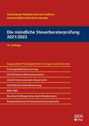 Die mündliche Steuerberaterprüfung 2021/2022