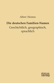 Die deutschen Familien-Namen
