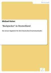 'Backpacker' in Deutschland