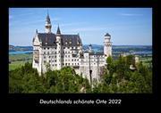Deutschlands schönste Orte 2022 Fotokalender DIN A3