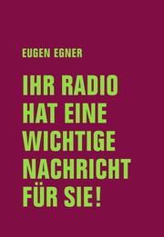 Ihr Radio hat eine wichtige Nachricht für Sie!
