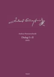Andreas-Hammerschmidt-Werkausgabe Band 5: Dialogi I+II (1645)