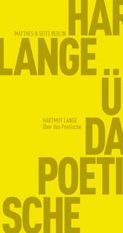 Über das Poetische