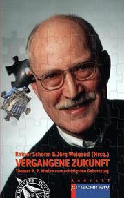 VERGANGENE ZUKUNFT - Cover