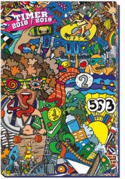 Schülerkalender Comic 2018/2019