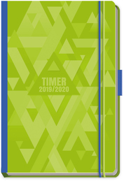 Schülerkalender Spot Green 2019/2020