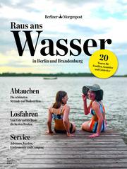 Raus ans Wasser - in Berlin und Brandenburg - Cover