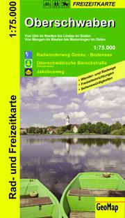 Oberschwaben - Rad und Freizeitkarte